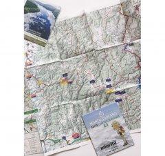 Harta de drumeție Munții Șureanu