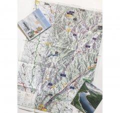 Harta de drumeție Munții Țarcu - Cernei
