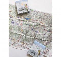 Harta de drumeție Munții Parâng - Latoriței - Căpățânii