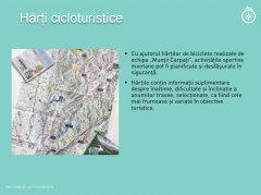 Muntii Carpati harti cicloturistice