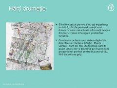 Muntii Carpati harti de drumetie