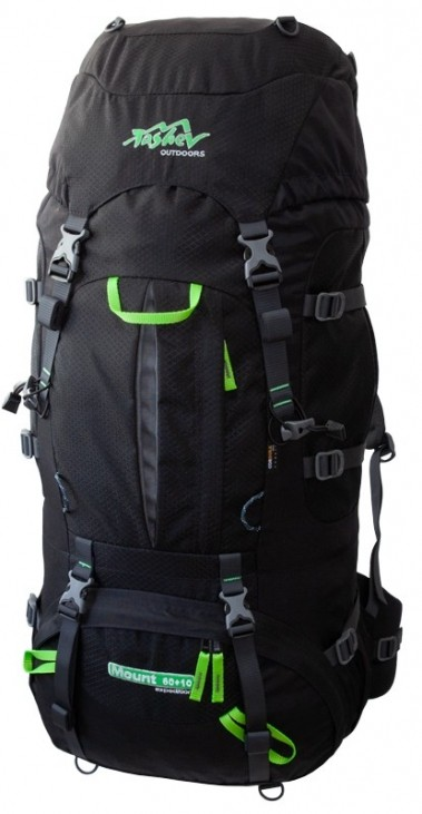 Mount 6010 Black Green Logo