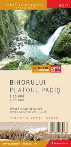 Schubert & Franzke Harta M-ții Bihorului, Platoul Padiș