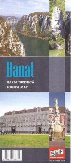 Schubert & Franzke Harta turistica a Banatului