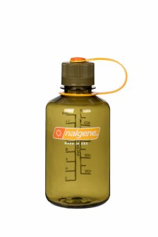 Bidon pentru apa Nalgene Everyday narrow mouth 0.5 L Oliv 078331
