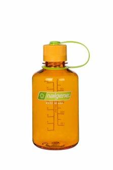 Bidon pentru apa Nalgene Everyday narrow mouth 0.5 L Clementine 078335