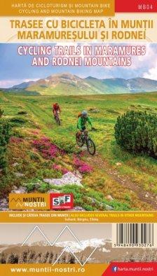 Schubert & Franzke Harta Cicloturistică Munții Maramureșului și Rodnei