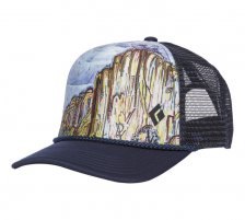 Sapca Black Diamond Flat Bill Trucker