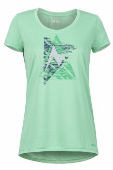 Tricou Marmot Post Time Tee Wm's