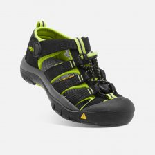 Keen Newport H2 JR 1009965 black lime green