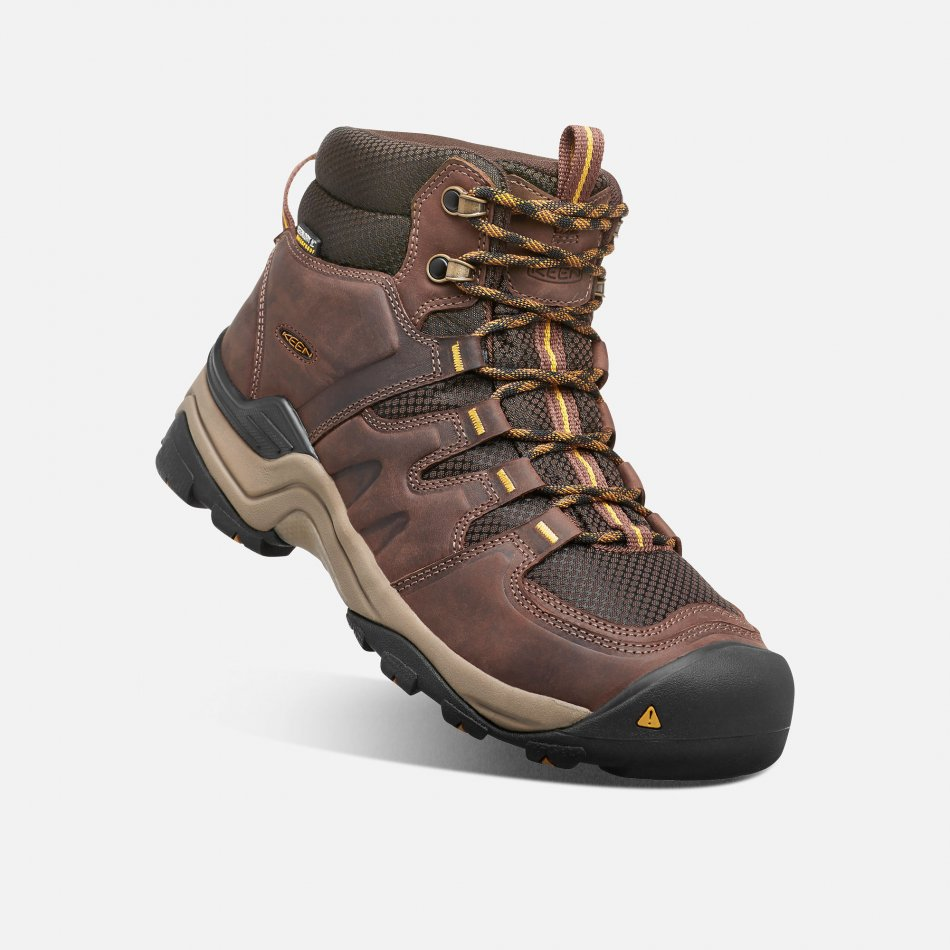 Keen Gypsum Mid II WP M 1015298 coffe bean