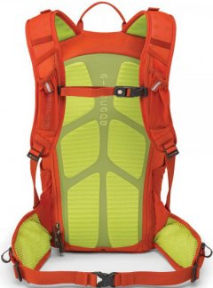 Osprey Zealot 15 Atomic Orange back