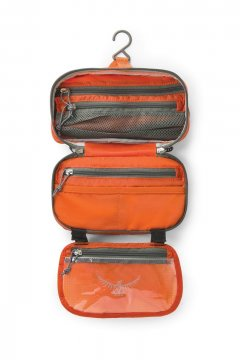 Osprey WashBag Zip open
