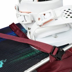 KrestaVertical and horizontal backpanel snowboard carryweb