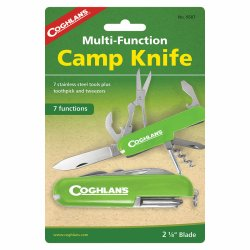 Briceag multifunctional cu 7 functii  Coghlans Camp Knife