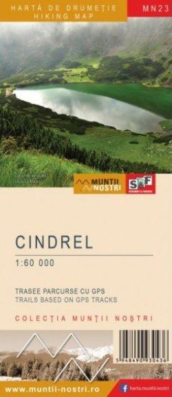 Schubert & Franzke Harta M-ții Cindrel