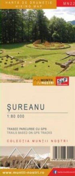 Schubert & Franzke Harta M-ții Șureanu