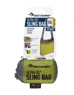 STS Sling Bag lime stored