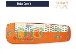 STS Saltea autogonflabila Ultralight Sef Inflating delta core