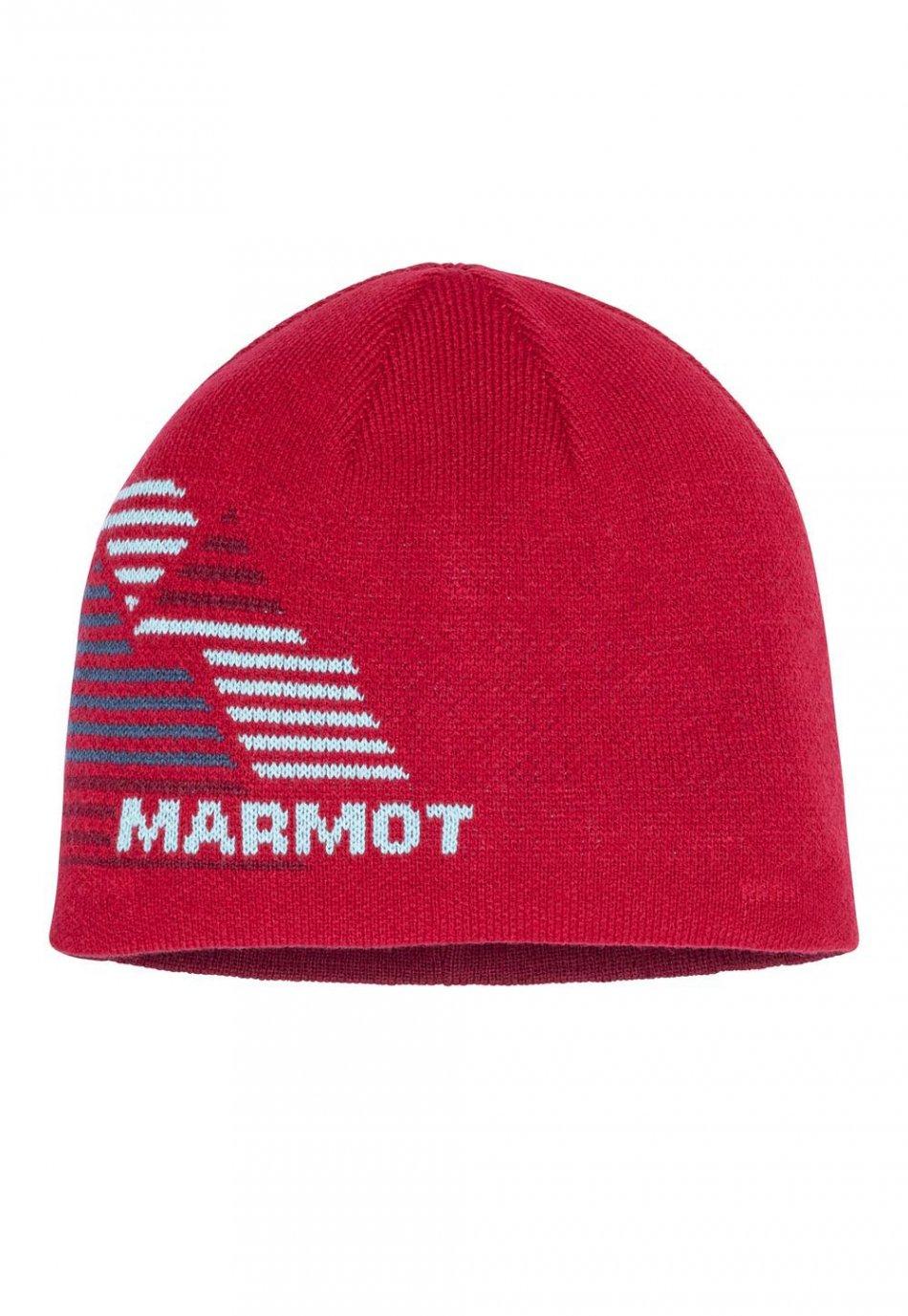 Marmot Novelty Rvsble Beanie Boys Team Red 139506278