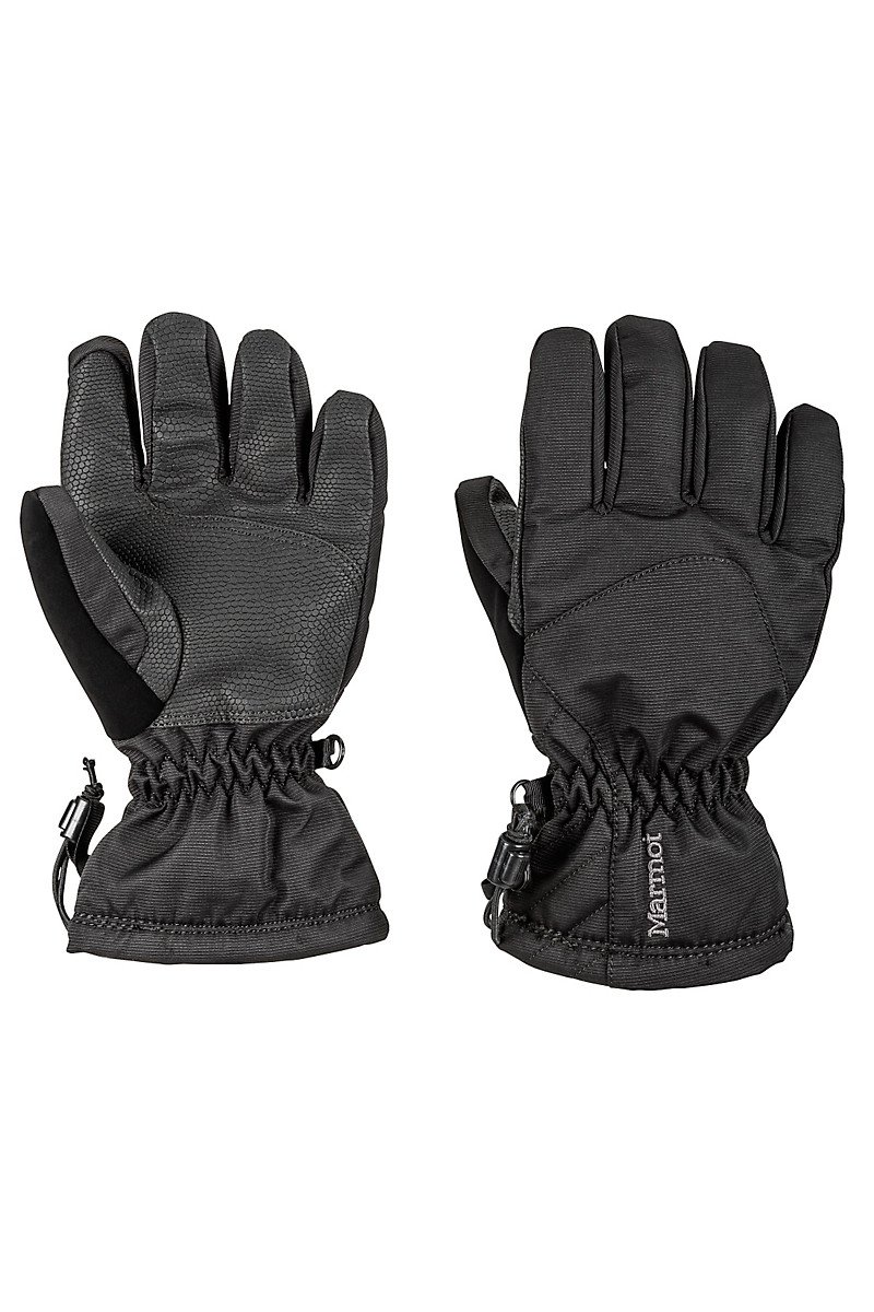 Marmot Glade Gloves Girls Black 19490001