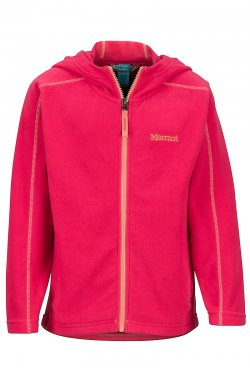 Marmot Rocklin Hoody Girls Disco Pink 427907216