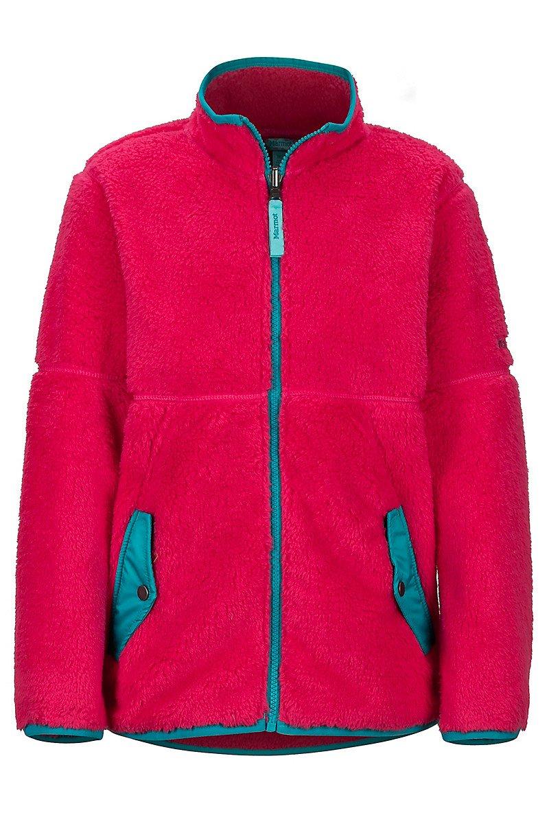 Marmot Lariat Fleece Girls Disco Pink 897907216