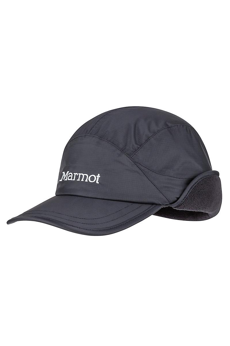 Marmot Precip Eco Insulated Baseball Cap Bleck 13940001