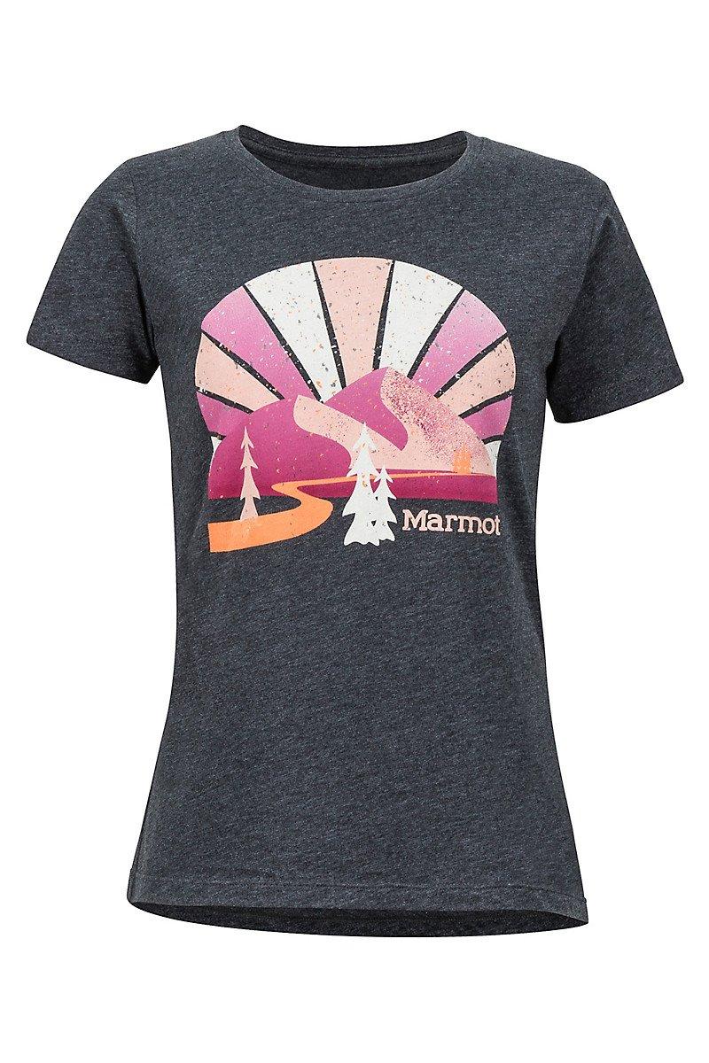Marmot Forward Tee SS Wms Charcoal Heather 471401204