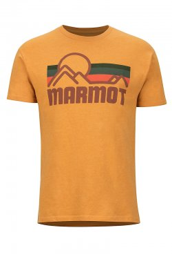 Marmot Coastal Tee SS New Aztec Gold Heather 424309806