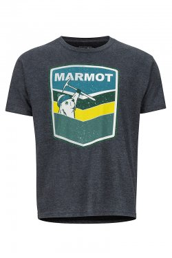 Marmot Retro Tee SS Charcoal Heather 425501204