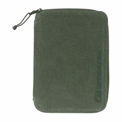 Lifeventure RFID Mini Travel Wallet Olive 68293 1