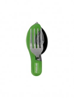 Rockland Camping Cutlery 4 in 1 Green 90 2