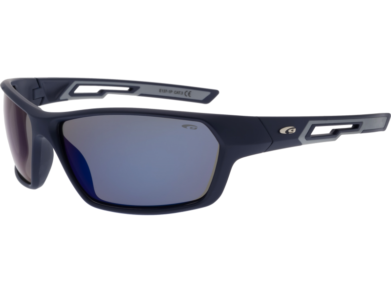 Goggle E1371P Matt Navy Blue Grey