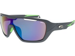 Goggle T6481 Matt Grey Neon Green
