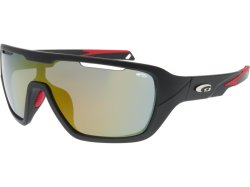 Goggle T6482 Matt Black Red
