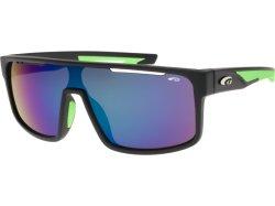 Goggle T8902 Matt Black Neon Green