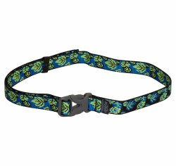 waist belt blue green