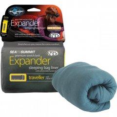 Lenjerie pentru sacul de dormit Sea to Summit Expander Traveller 80x225 cm, cu insertie pentru perna