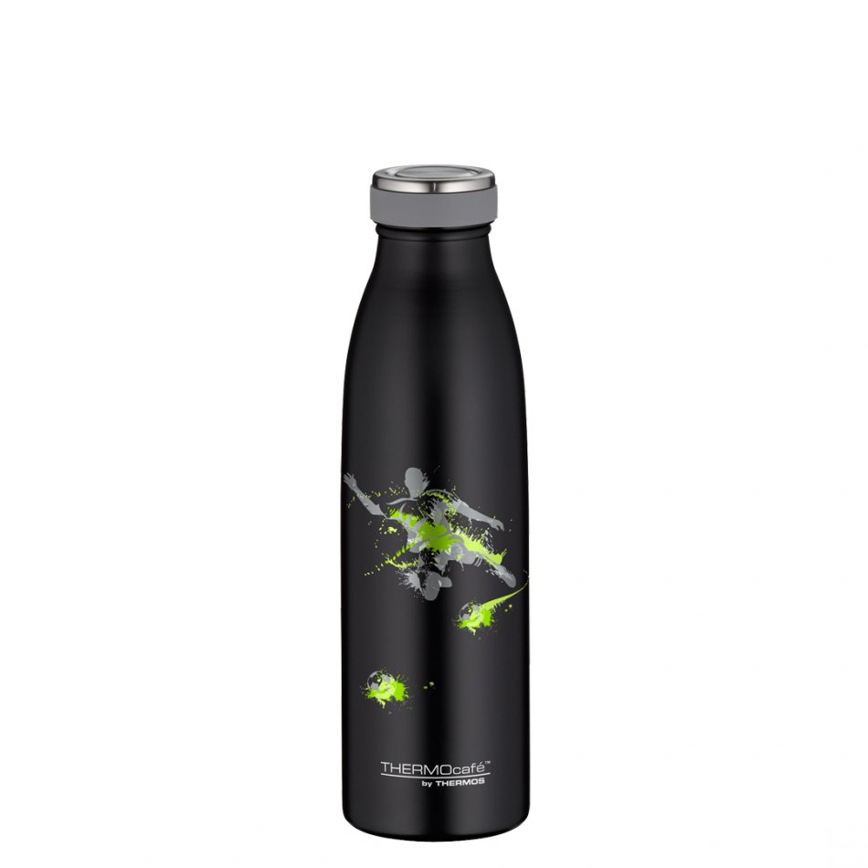 Termos Thermos 'TC Bottle' Soccer Black and Green