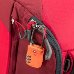 Osprey Porter 30 lockable zippers