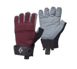 Manusi pentru alpinism Black Diamond Crag Half-Finger Wm`s