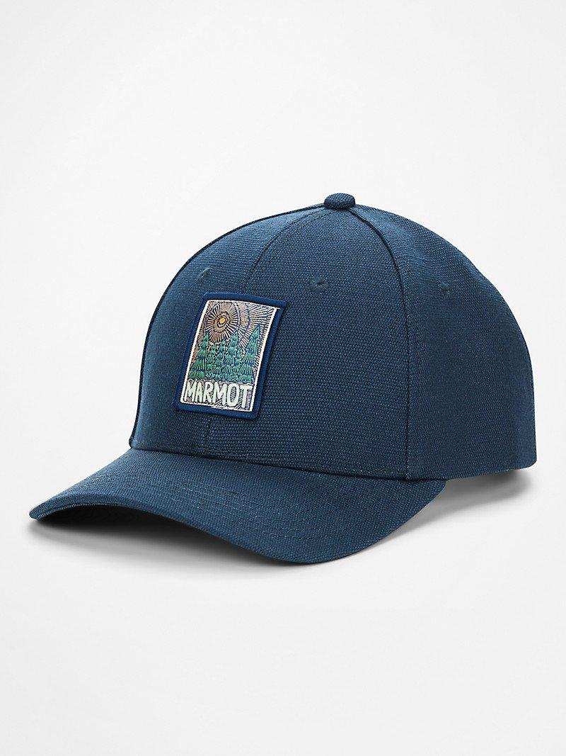 Marmot Hemp Cap Pacific Blue Hemp 13780 3165