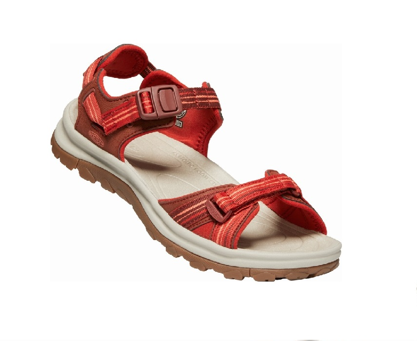 Keen Terradora II Open Toe Dark Red Coral  10012448
