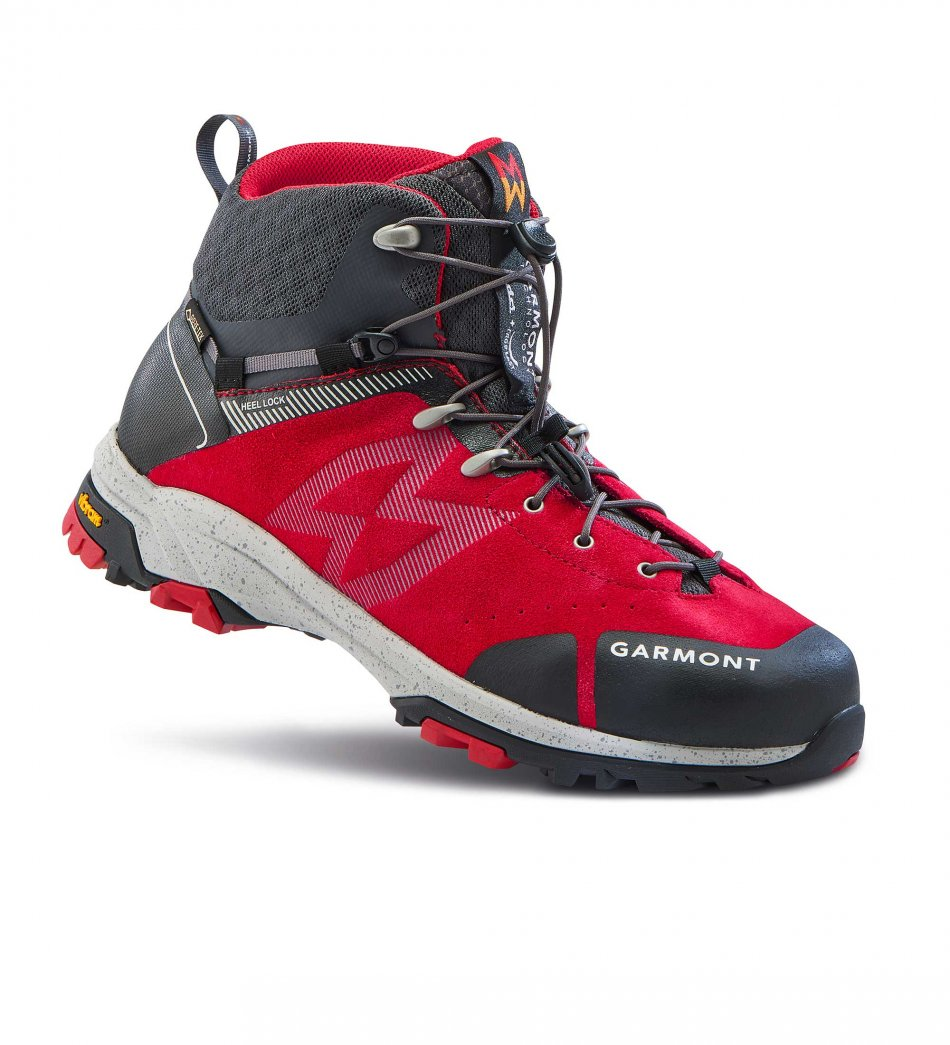 Garmont Gtrail red grey