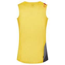 La Sportiva Vert Tank Yellow Black P09100900 back