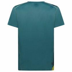La Sportiva Stream Tshirt Pine Kiwi P10714713 back