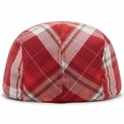 Y04309311 Basco Cap Chili Poppy Back