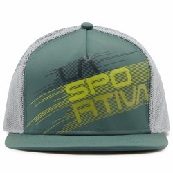 Y41618907 Trucker Hat Stripe Evo Pine Cloud