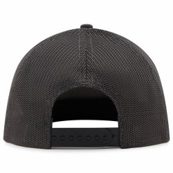 Y41618907 Trucker Hat Stripe Evo Carbon Back